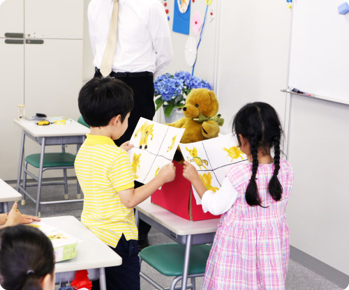5つの力を養うKID'S PREP. PROGRAM